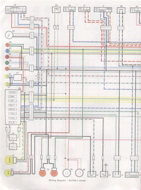 yamaha xj 750 wiring diagram 28 wiring diagram images