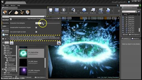 Tutorial C Ue4 | ue4 tutorial taking screenshots in the editor youtube