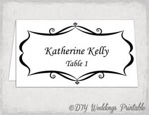 Tent Name Card Template Word by Place Card Template Tent And Flat Name By Diyweddingsprintable