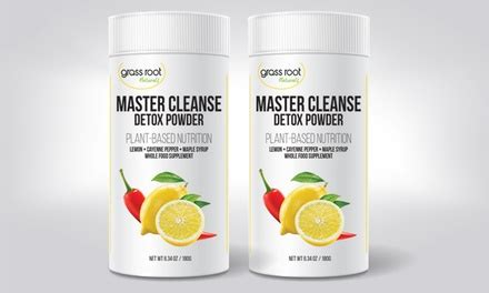 How To Master Cleanse Detox by Up To 67 On Master Cleanse Detox Powder Groupon Goods