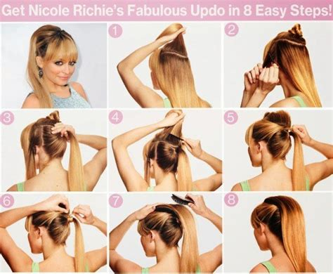 ponytailsmadeat the saloon surprisingly easy diy hairstyles to look like a real
