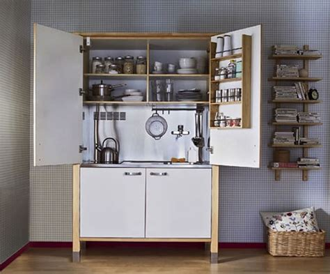 great storage ideas for small kitchen home pinterest mini cocinas para espacios muy peque 241 os