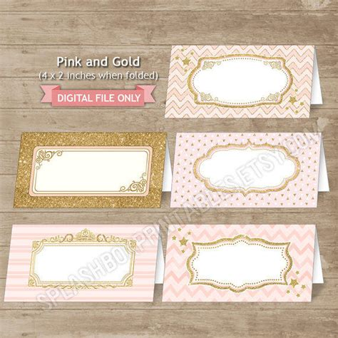 printable gold label pink and gold editable food labels pink from