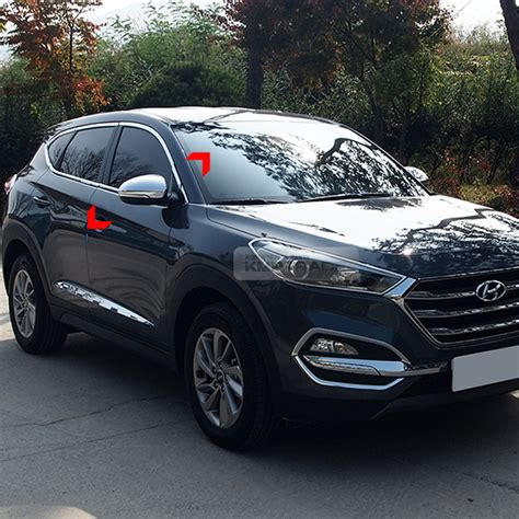 New Agya 2017 Side Molding With Colour Colour By Request side mirror chrome molding cover garnish trim for hyundai 2016 2017 tucson ebay