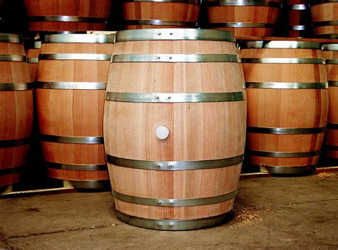 Wine Barrel by Historical Fiction Authors Sir Francis And