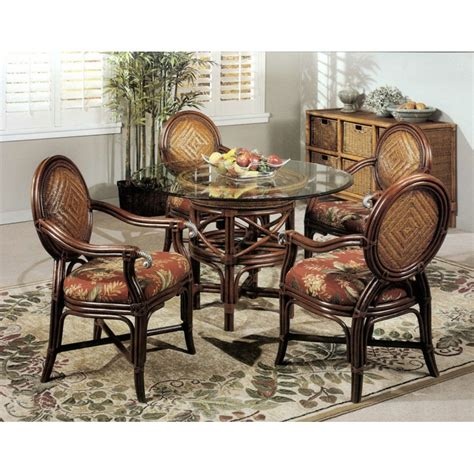 Wicker Dining Set Bloggerluv Com Rattan Dining Room Furniture