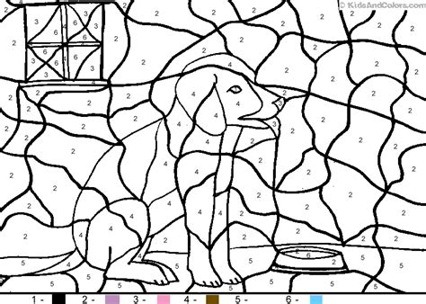 color by number animal coloring pages 89 animal coloring pages by number printable