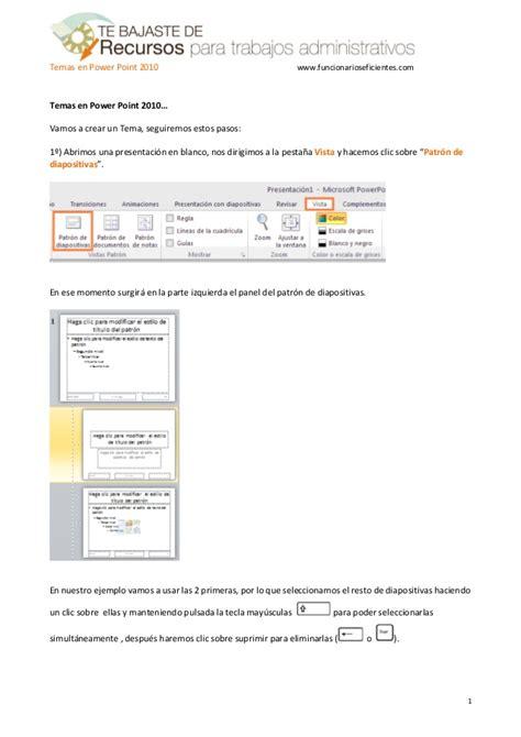 tutorial de powerpoint 2010 como crear una plantilla o tema en powerpoint 2010