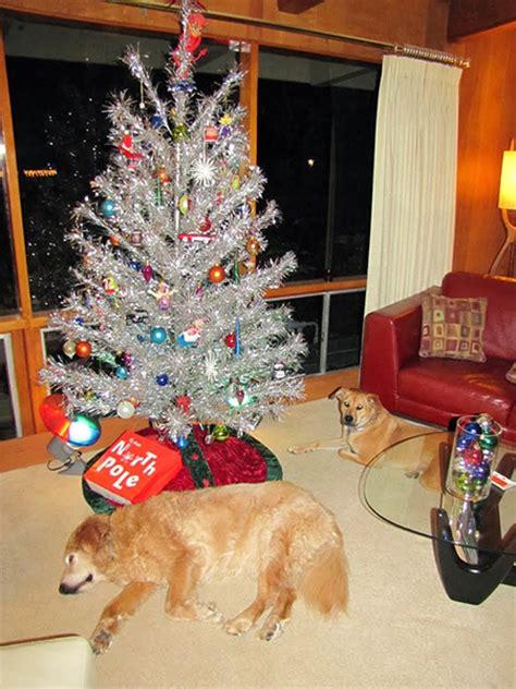 vintage aluminum christmas trees  favorite holiday eye candy modern charlotte nc homes