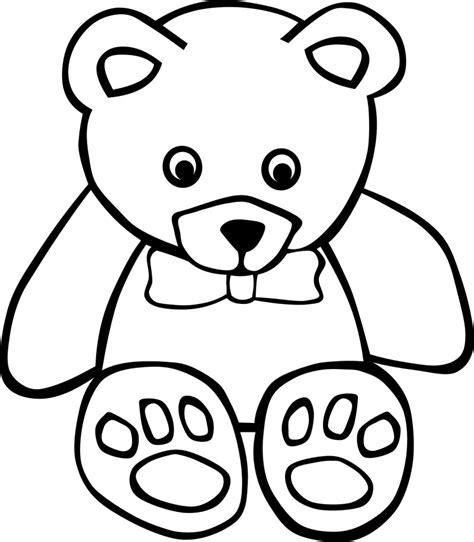 imagenes para dibujar ositos dibujos de osos para colorear y pintar