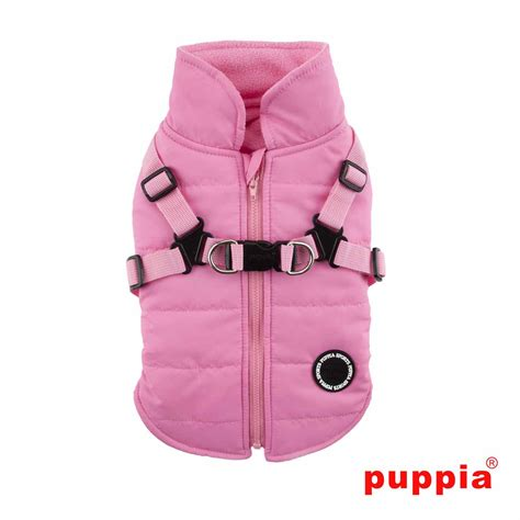 coat harness mountaineer harness coat by puppia pink at baxterboo