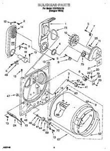 bulkhead diagram amp parts list for model rgs7648jq0 roper