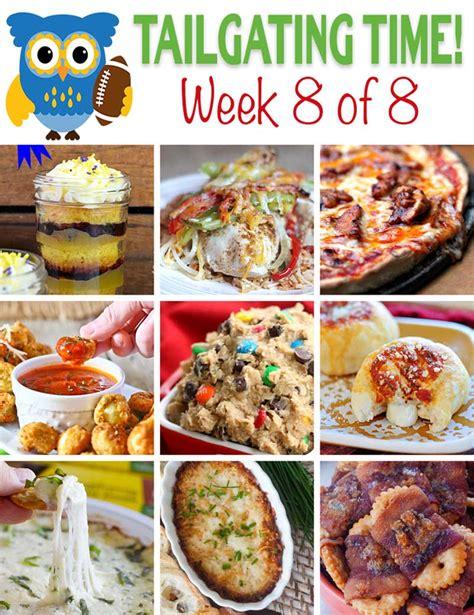 tailgating food ideas week 8 tgif this grandma is fun