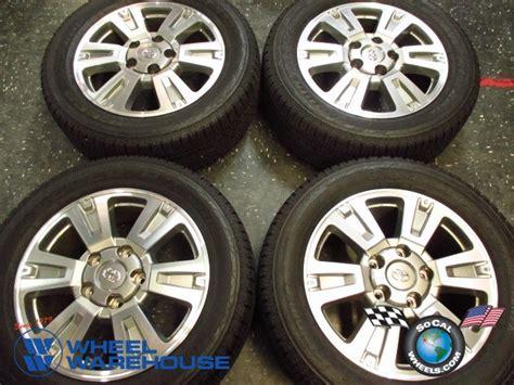 Toyota Tundra Factory Wheels Four 2014 Toyota Tundra Platinum Factory 20 Quot Wheels Tires