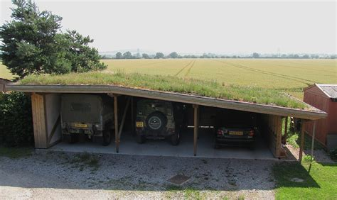 Car Port Roof Green Car Port Small Scale Green Roof Guide