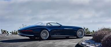 Convertible Mercedes Vision Mercedes Maybach 6 Cabriolet Luxury Of The Future