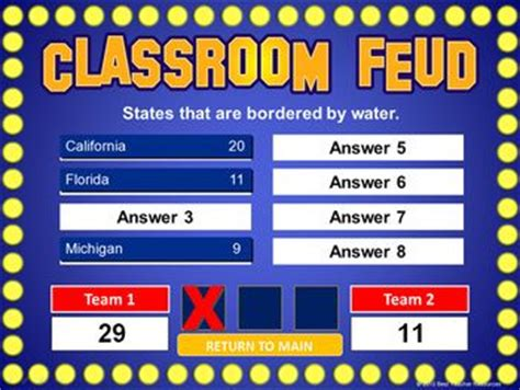 Family Feud Review Games And Create Your Own On Pinterest How To Make Your Own Family Feud On Powerpoint