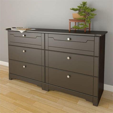 6 drawer double dresser espresso 6 drawer double dresser in espresso 320617