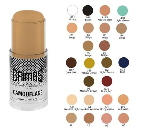 tattoo camouflage makeup uk grimas camouflage tattoo cover stick 23ml ebay