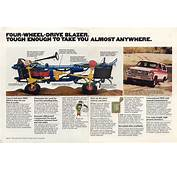 1977 Chevrolet Blazer Brochure