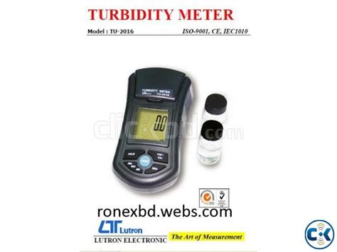 Lutron Tu 2016 turbidity meter in bangladesh lutron tu 2016 clickbd