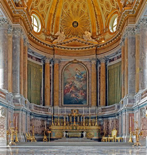 reggia di caserta interni file interior of the palace of caserta palatine chapel