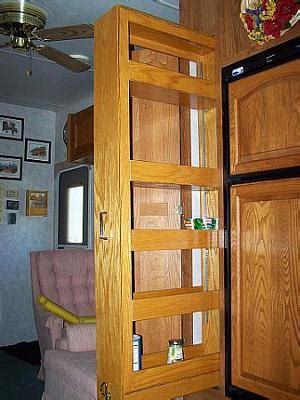 Rv Pantry Storage by Pantry Modification In Our Custom Rv
