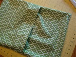 envelope back pillow case pattern envelope pillow tutorial