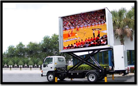 mobile by conduit led display solution
