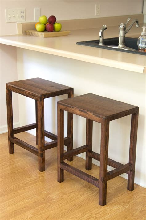 How To Make A Bar Stool Out Of Wood by How To Make A Half Bar Stool From 2x4s Jays Custom Creations