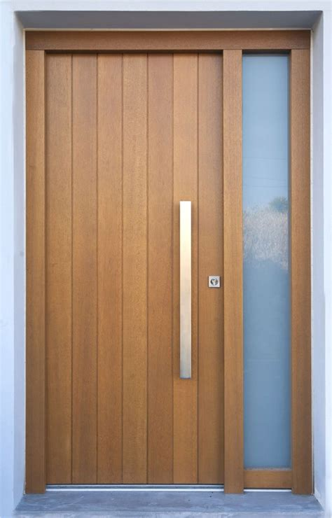 Hardwood Exterior Doors Best 25 Wooden Door Design Ideas On Door