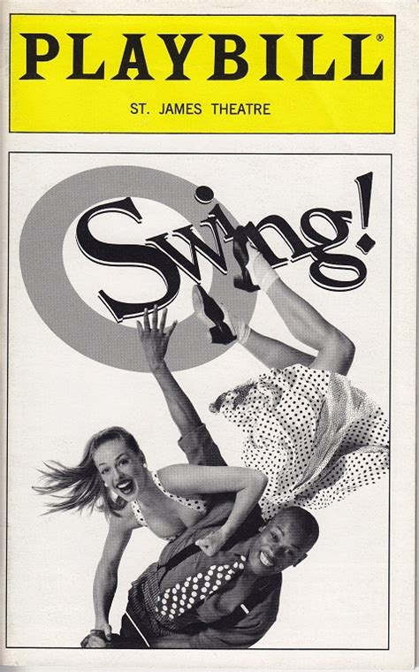broadway swing 35 best images about my playbill collection on pinterest