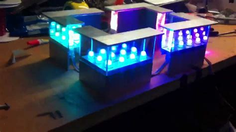 how to make infinity lights infinity mirror running lights