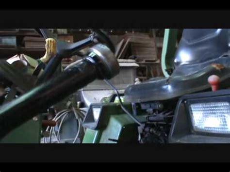 john deere tractor oil leakwmv youtube