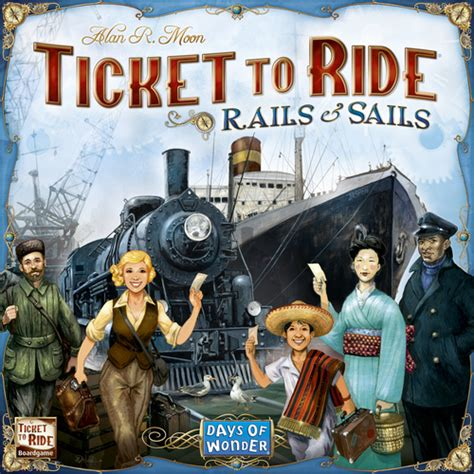 ticket to ride around the broken meeple ticket to ride rails sails review around the world in 80 minutes