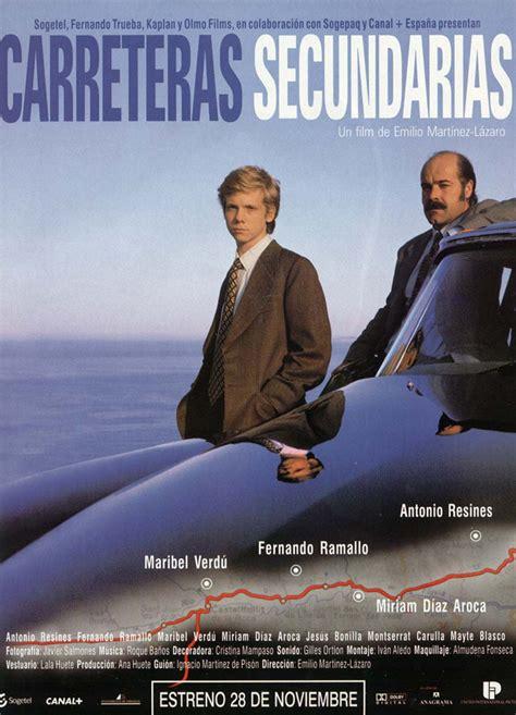 libro carreteras secundarias m g cine carteles de pel 237 culas carreteras secundarias 1997