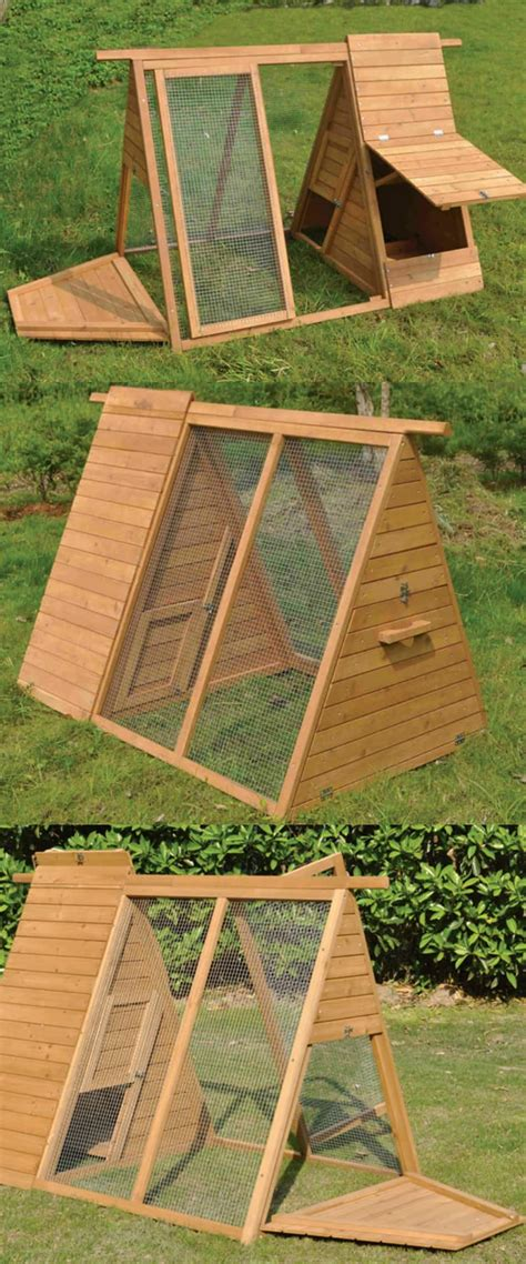 15 creative modern a frame chicken coop designs