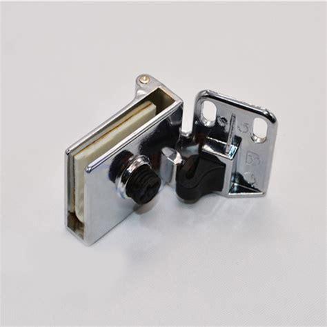 Glass Cabinet Door Hinges 1 Pair Of Glass Door Display Cabinet Hinge Zinc Alloy Modern Furniture Hinges Ebay