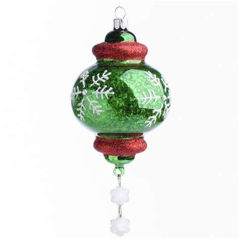 glass finial christmas ornament christmas and winter