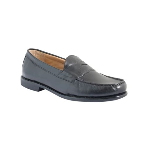 comfort loafers g h bass co parnell comfort penny loafers in black for