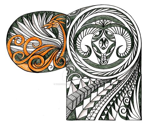 tribal ram tattoos polynesian ram and by thehoundofulster on
