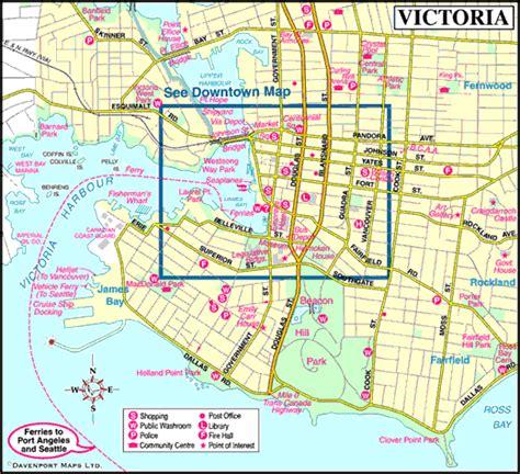 printable maps victoria bc victoria british columbia canada city guide