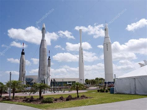 canaveral visitor center rocket garden at the visitor centre at kennedy space