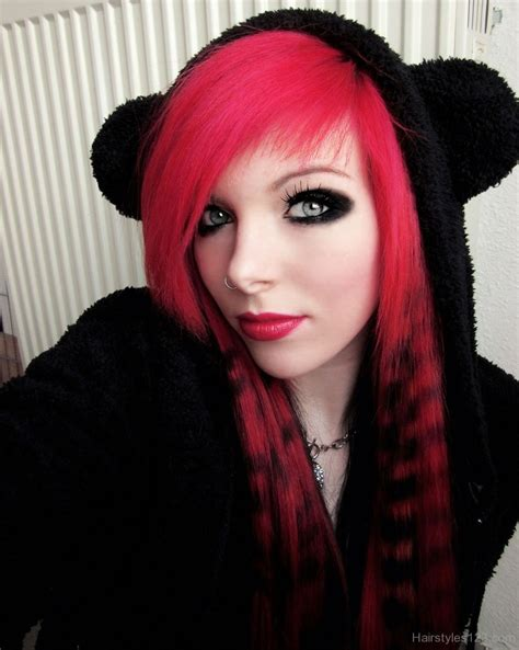 emo hairstyles with highlights emo hairstyles
