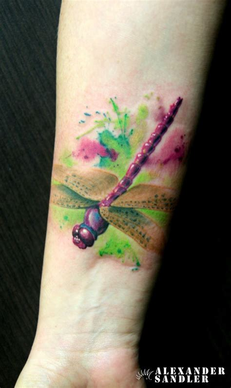 watercolor tattoo dragonfly 25 best watercolor dragonfly ideas on