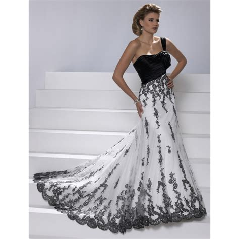 Black And White Wedding Dresses by Black And White Wedding Dresses A Trusted Wedding Source