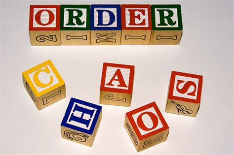 Order Kaos from chaos to order diverse communities interested in