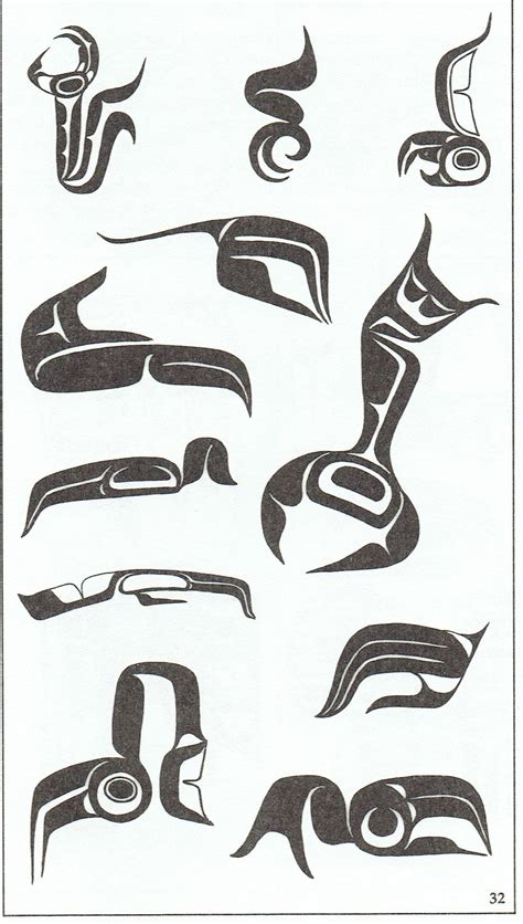 west coast native tattoo designs talon and claw designs used in west coast