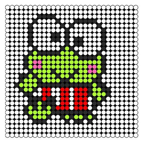 bead characters keroppi perler bead pattern bead sprites characters