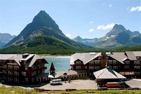 glacier inn many glacier hotel glacier county montana the swiss